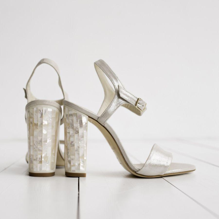 Beautiful Block Heel Wedding Shoes