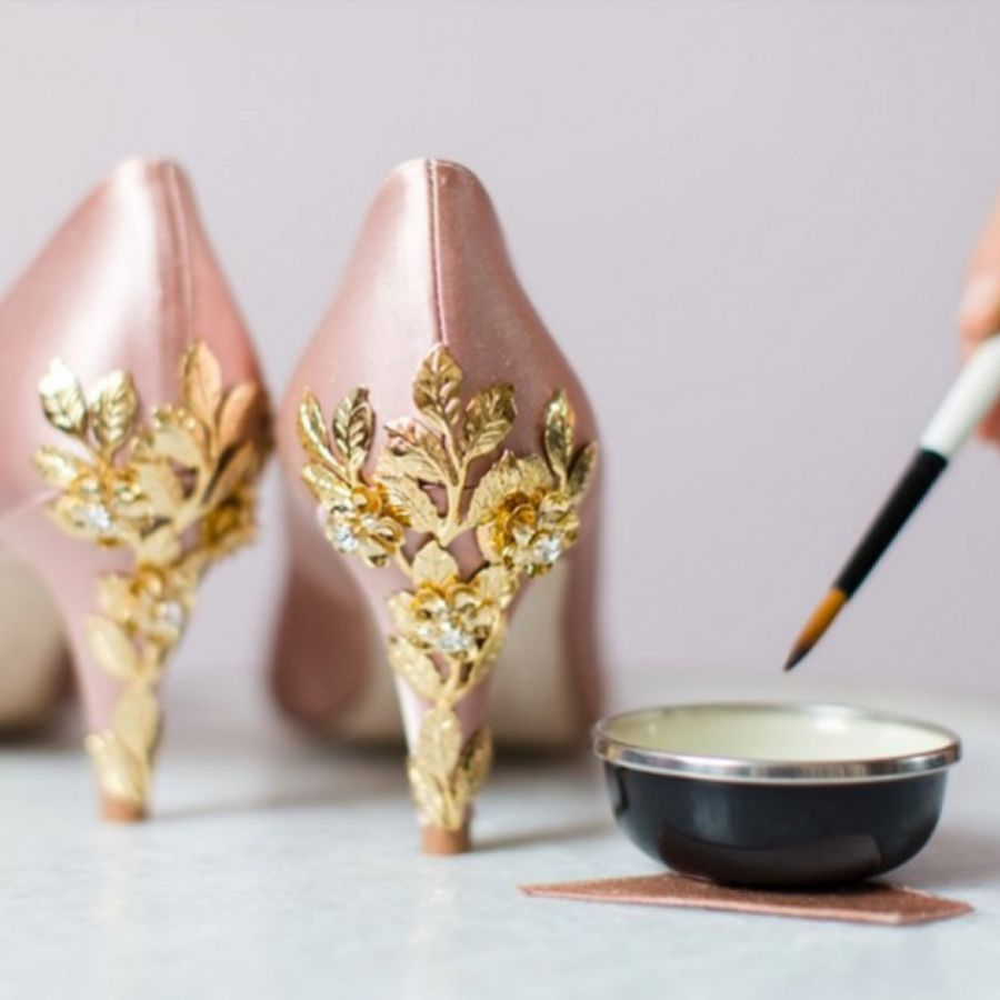 How To Dye Your Wedding Shoes