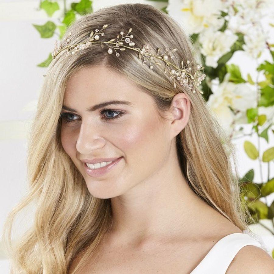 How To Wear A Wedding Hair Vine