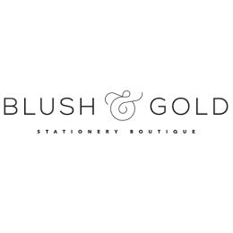 Blush & Gold Logo