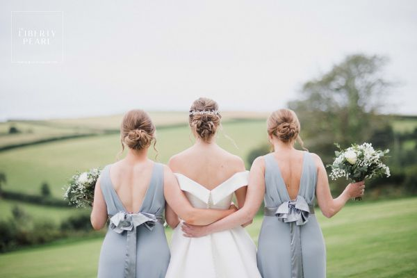 Photo of Adeline Opal Crystal and Pearl Wedding Hair Vine uploaded by H on 17th September 2021