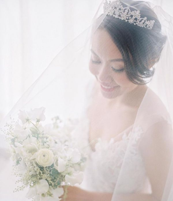 Photo of Ivory and Co Constance Classic Crystal Embellished Bridal Tiara uploaded by J on 31st March 2021