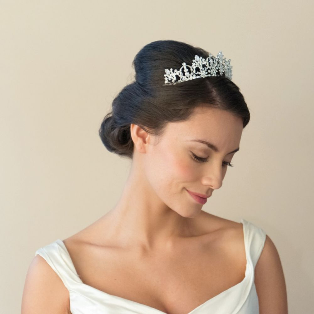 Ivory and Co Constance Classic Crystal Embellished Bridal Tiara