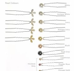 Arianna Set of 6 Vintage Bridal Hair Pins ARP006