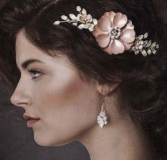 Arya Opal Crystal Drop Earrings