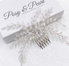 Blyss Crystal Spray Wedding Hair Comb