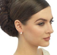 Evie Dainty Pearl Stud Earrings