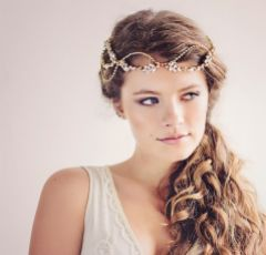 Daisy Couture Gatsby Inspired Bridal Headpiece