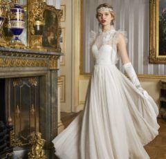 Eliza Jane Howell Savoy Vintage Crystal and Bead Embellished Headpiece