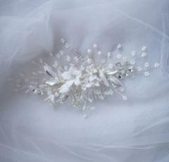 Eve Floral Spray Wedding Hair Comb