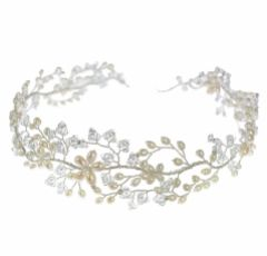 Hermione Harbutt Persephone Garland of Flowers Headpiece