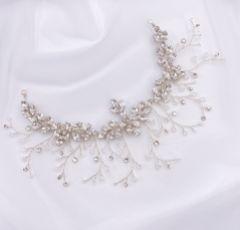 Hermione Harbutt Radiance Crystal Embellished Wedding Headpiece