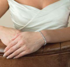 Ivory and Co Andorra Cubic Zirconia Wedding Bracelet