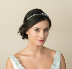 Ivory and Co Antonia Pearl and Crystal Floral Wedding Headband