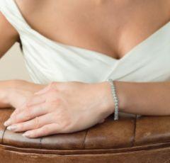Ivory and Co Bentley Cubic Zirconia Wedding Bracelet
