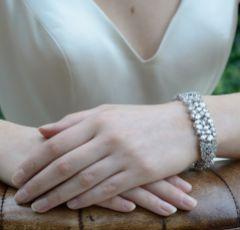 Ivory and Co Côte d'Azur Cubic Zirconia Wedding Bracelet