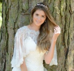 Ivory and Co Gypsy Rose Gold Floral Hair Vine