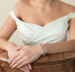 Ivory and Co Mayfair Vintage Inspired Crystal Wedding Bracelet