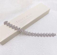 Ivory and Co Montague Crystal Embellished Wedding Bracelet
