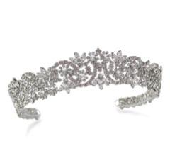 Ivory and Co Octavia Vintage Inspired Crystal Bridal Tiara