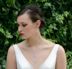 Ivory and Co Sorrento Vintage Crystal Drop Earrings