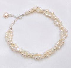Katarina Twisted Freshwater Pearl Bracelet