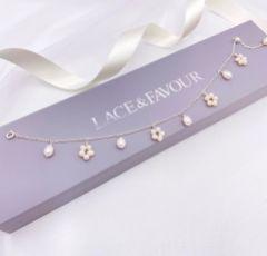 Lavinia Freshwater Pearl Drop Chain Bracelet