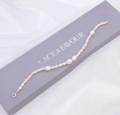 Miliana Delicate Pearl Wedding Bracelet