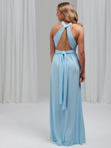 Lily Rose Sky Blue Multiway Bridesmaid Dress