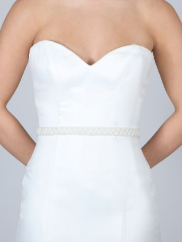 Perfect Bridal Odessa Pearl and Beaded Wedding Belt