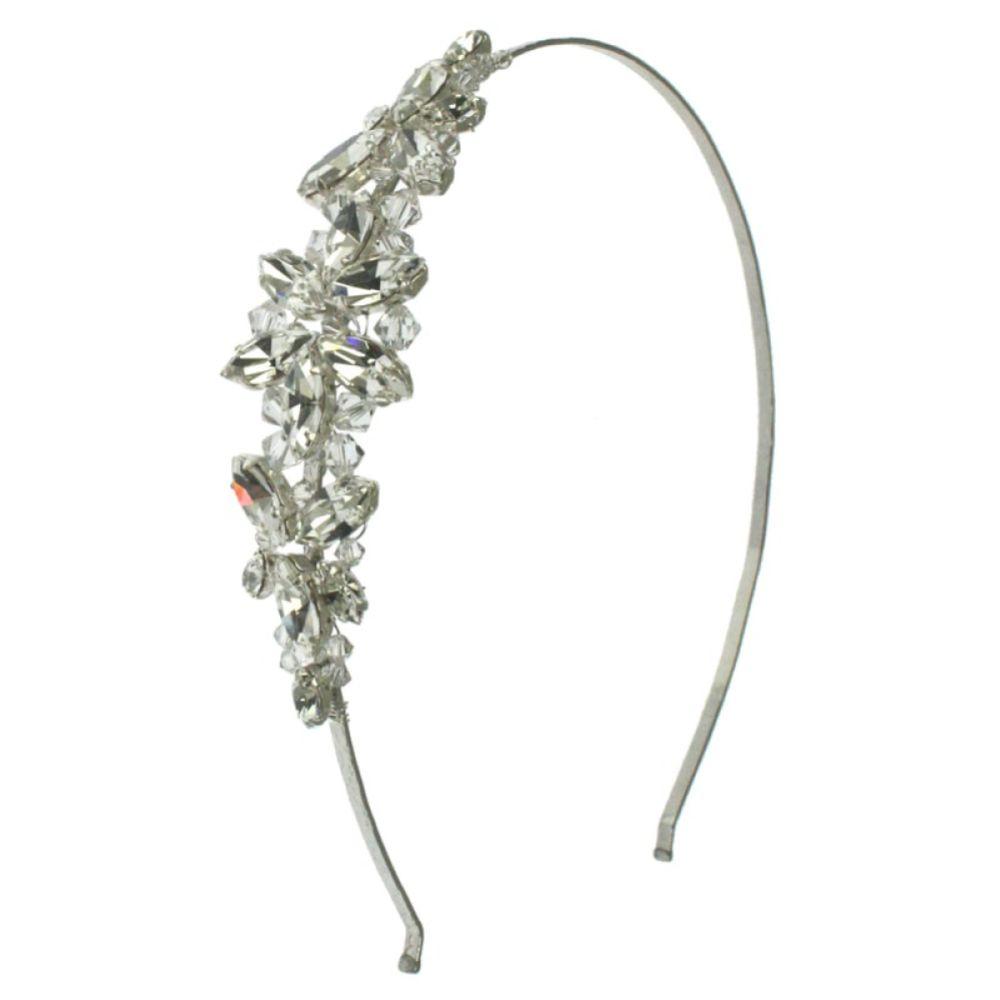 Arianna Crystal and Diamante Star Bridal Headband AR425C
