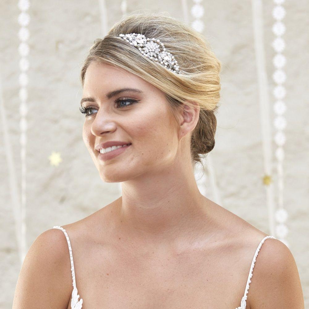 Arianna Etoile Vintage Inspired Wedding Headband AR568