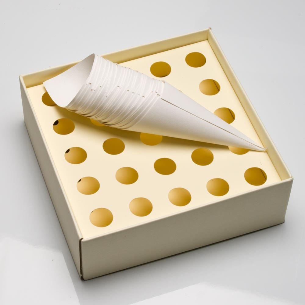 Empty Confetti Cone Set