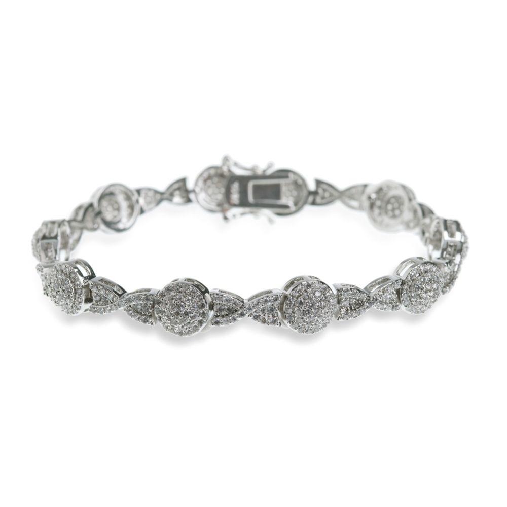 Ivory and Co Baltimore Crystal Embellished Wedding Bracelet