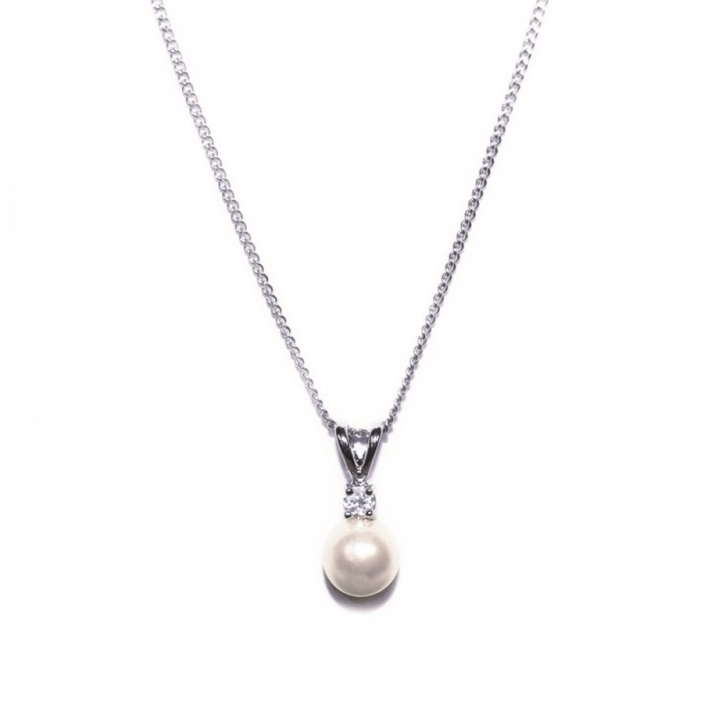Ivory and Co Classic Pearl Pendant Necklace