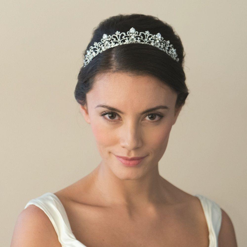 Ivory and Co Elizabeth Vintage Inspired Crystal Tiara