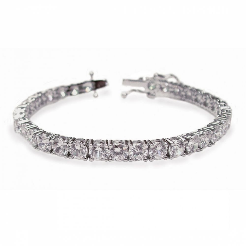 Ivory and Co Imperial Cubic Zirconia Wedding Bracelet
