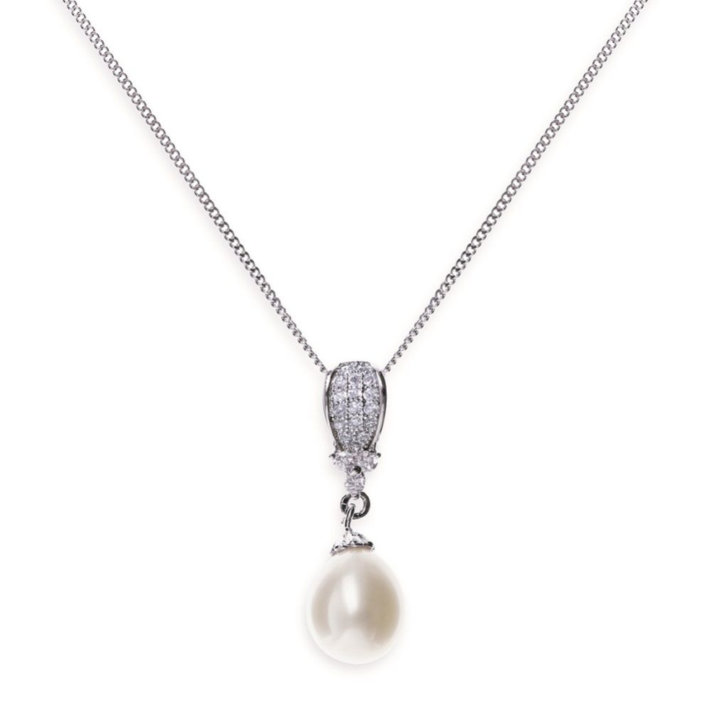 Ivory and Co Serrano Pearl Pendant Necklace