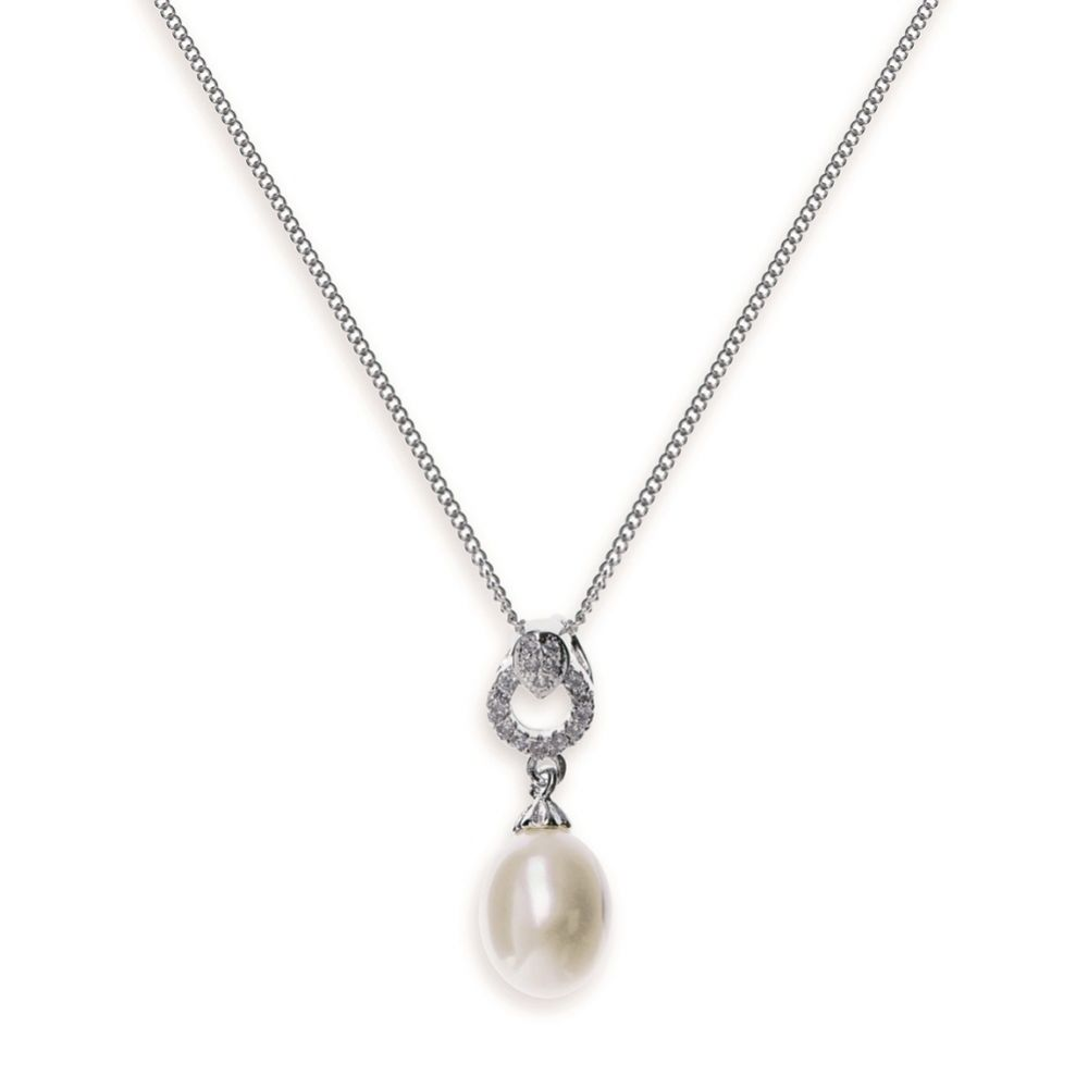 Ivory and Co Stockholm Pearl Pendant Necklace
