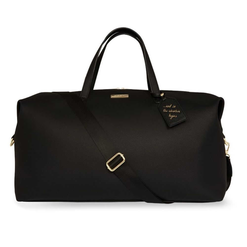 Katie Loxton Black Weekend Holdall Duffle Bag