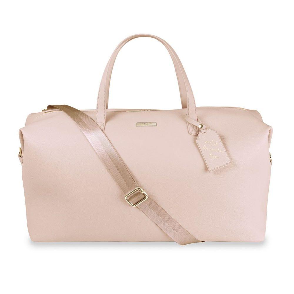 Katie Loxton Pale Pink Weekend Holdall Duffle Bag