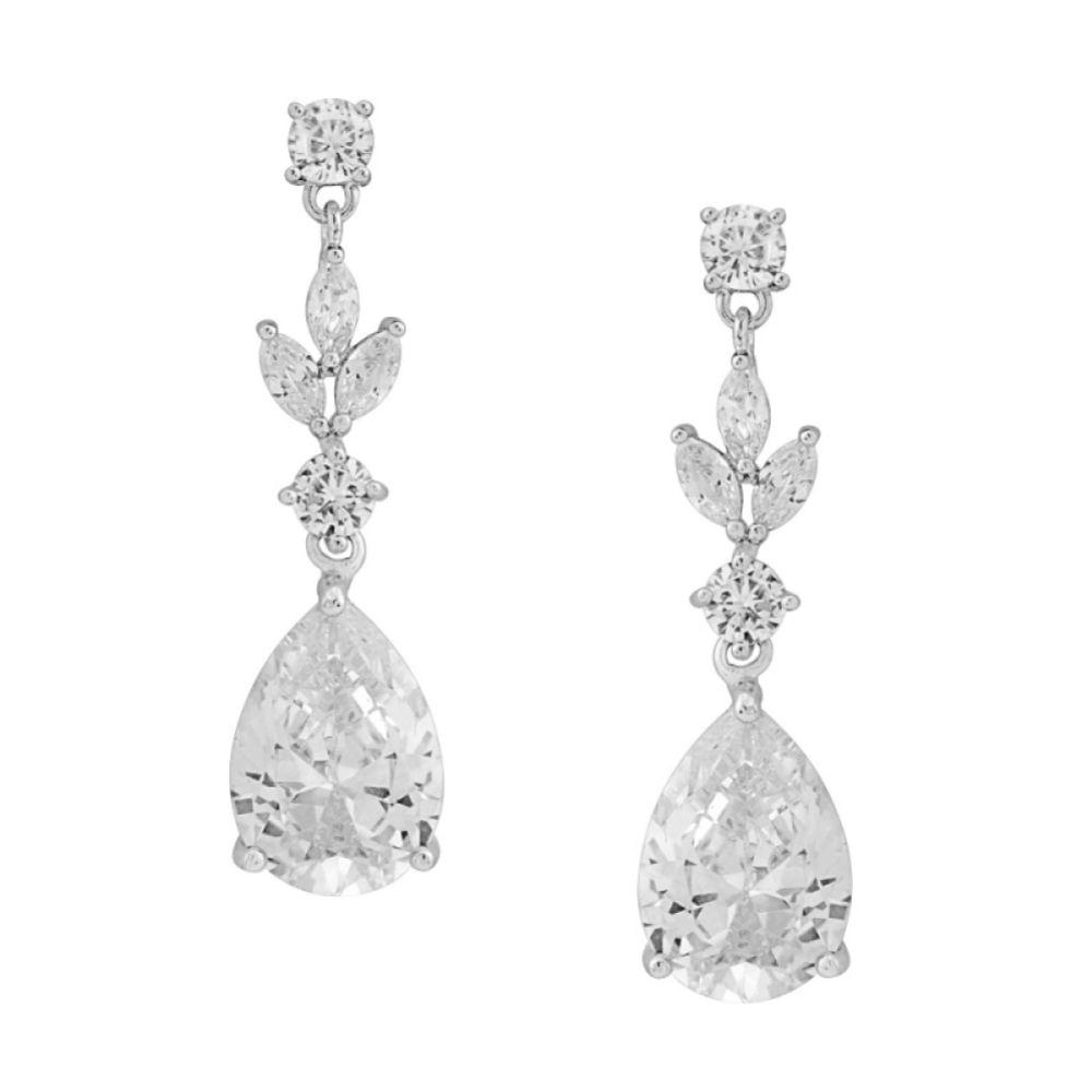 Lilibeth Cubic Zirconia Drop Earrings