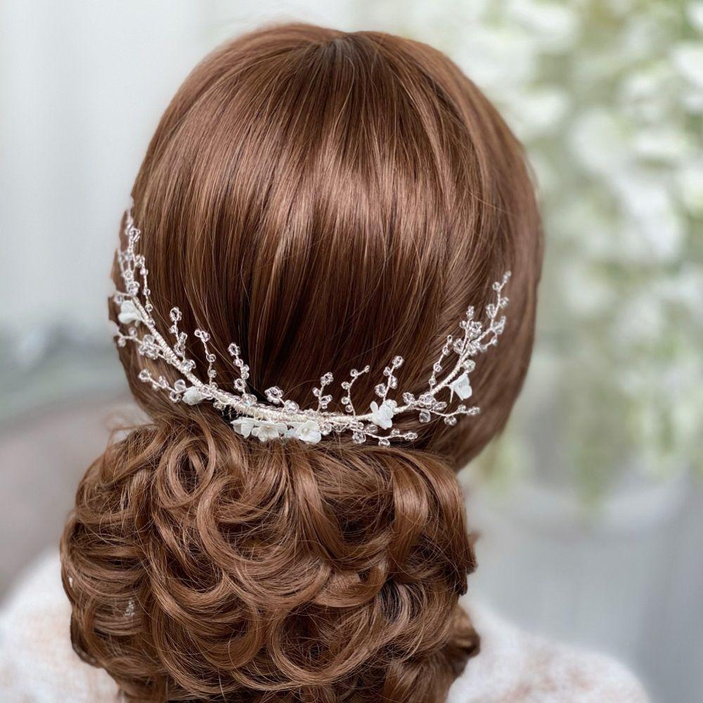 Pandora Beaded Branches Hair Vine on Comb