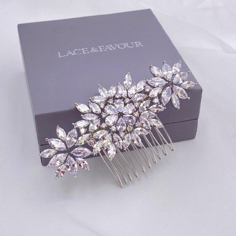 Sundance Sparkling Crystal Wedding Hair Comb