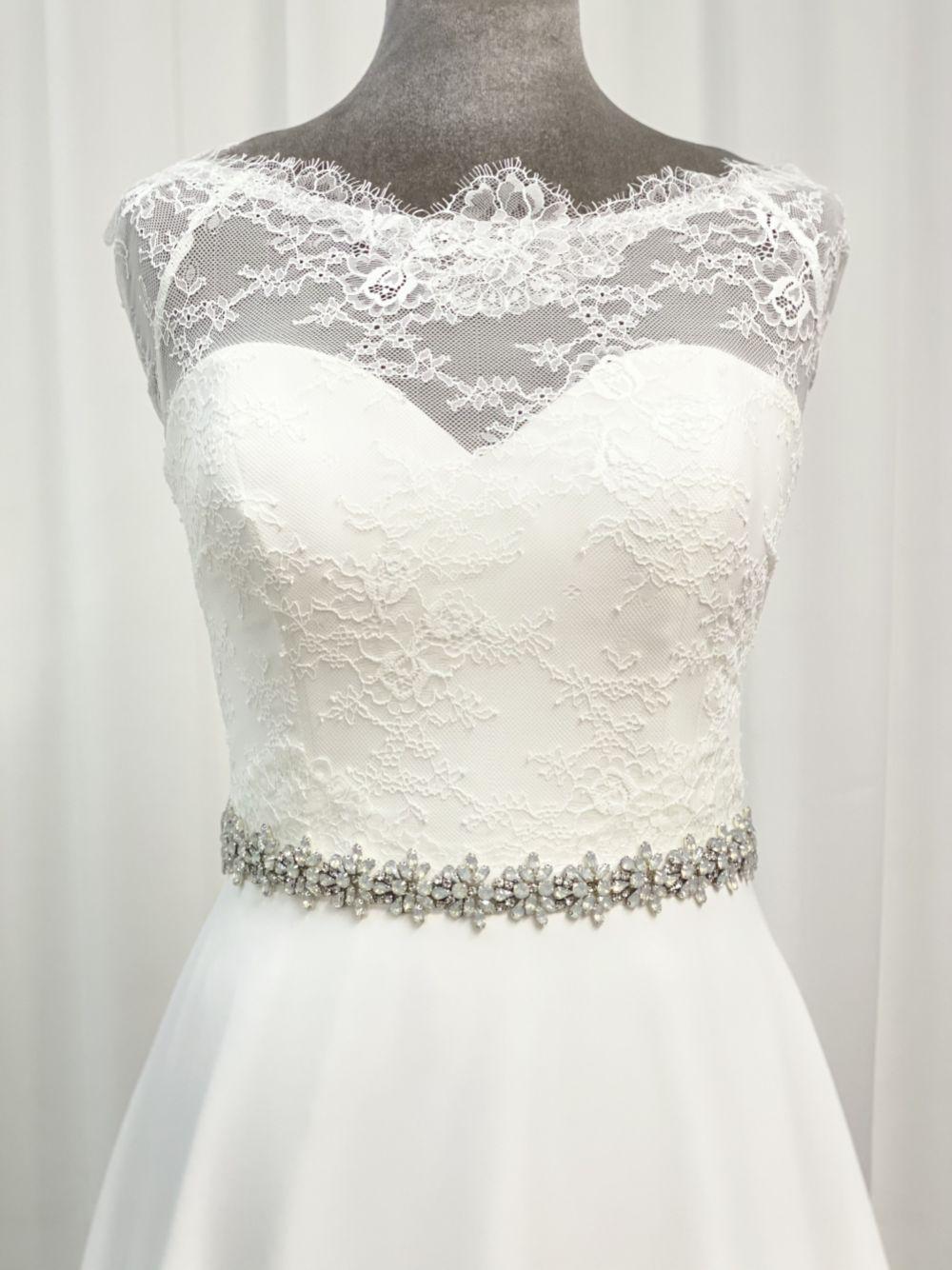 Perfect Bridal Brooke Opal Crystal Wedding Dress Belt