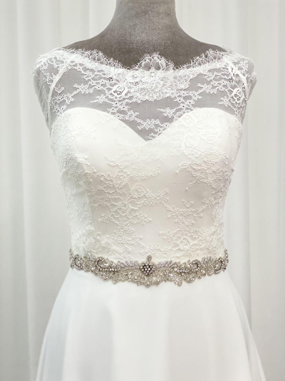 Perfect Bridal Elspeth Vintage Inspired Beaded Wedding Dress Belt