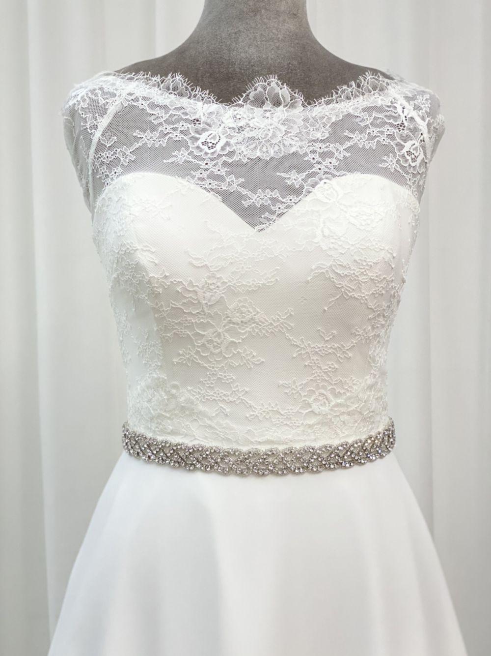 Perfect Bridal Josefina Sparkly Crystal Wedding Belt