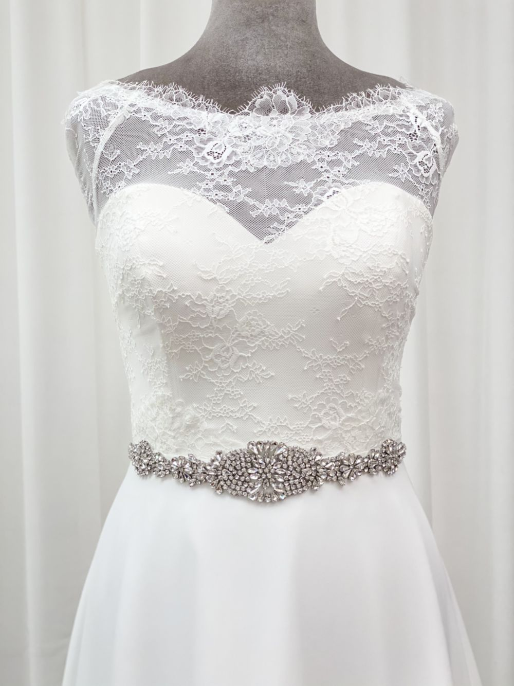 Perfect Bridal Lana Dazzling Crystal Embellished Dress Belt