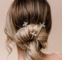 Arianna Set of 3 Crystal Bright Star Hair Pins ARP595