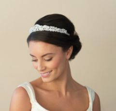 Ivory and Co Duchess 1920's Crystal Wedding Tiara